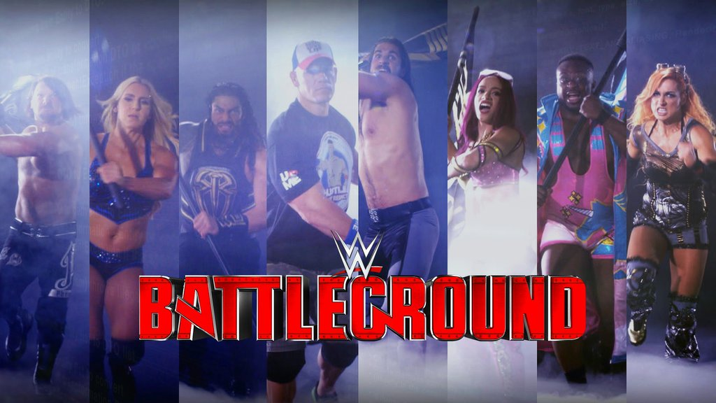 WWE Battleground Predictions