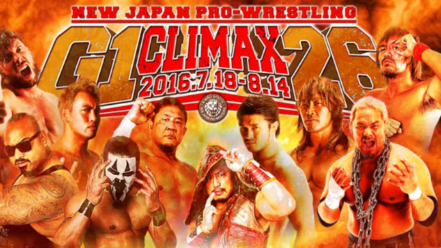 NJPW G1 Climax 2016 Awards