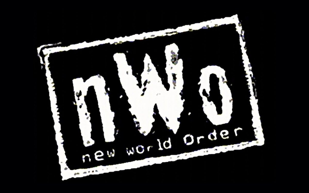 Just the NWO logo on a black background