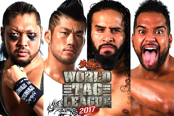 Jordan's NJPW World Tag League Finals 2017 Review