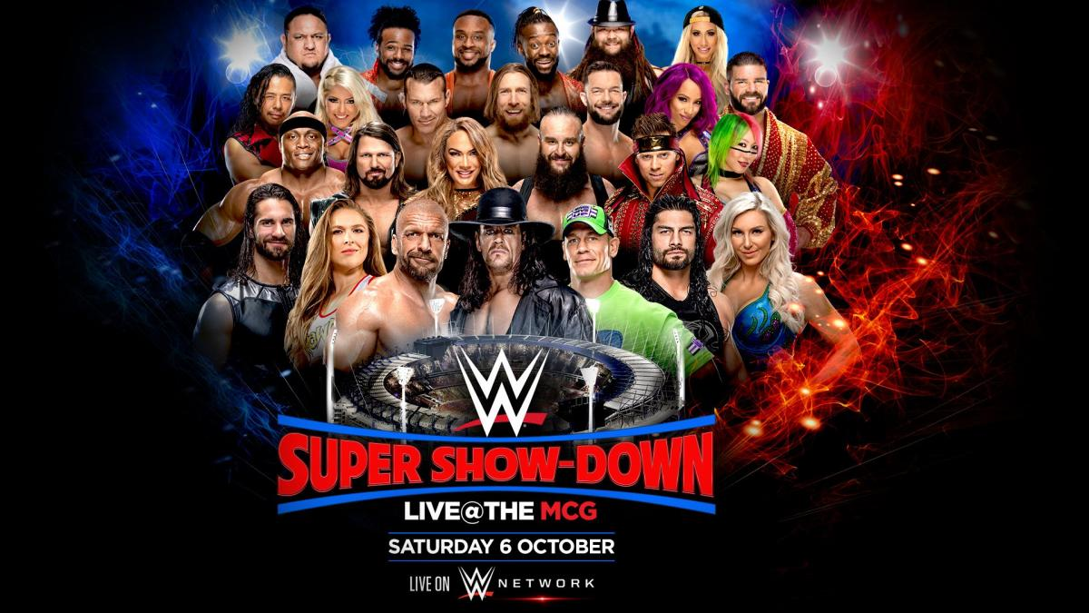 WWE Super Show-Down 2018 Predictions